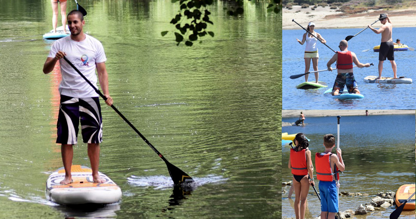 Luna Hotels & Resorts | Web Oficial - NAVEGAR EN LA SIERRA<br>Stand Up Paddle