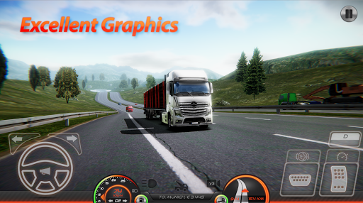 Truck Simulator : Europe 2 0.2 gameplay | by HackJr.Pw 1
