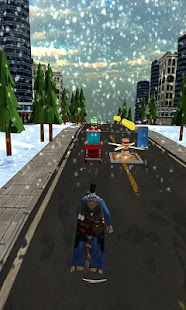 Santa Transform Superhero - Subway Xmas Runner - náhled