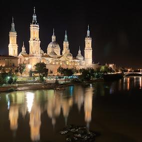 Señora del Pilar by George Marcu - Buildings & Architecture Places of Worship ( canon, 2015, zaragoza, catedral, catedral senora del pilar, spain,  )