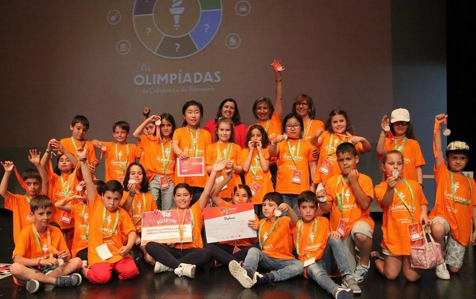Olimpíadas da Cidadania testou conhecimentos das crianças de Lamego