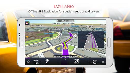 Sygic Taxi Navigation screenshot 1