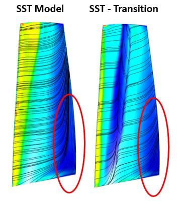 ANSYS - моделирование перехода ламинарного слоя к турбулентному, крайне важное для проведения точного расчета компрессора