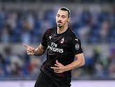 """Zlatan Ibrahimovic weet nog niet of hij volgend seizoen voor AC Milaan speelt: """"Zlatan is geen Europa League-speler"""""""