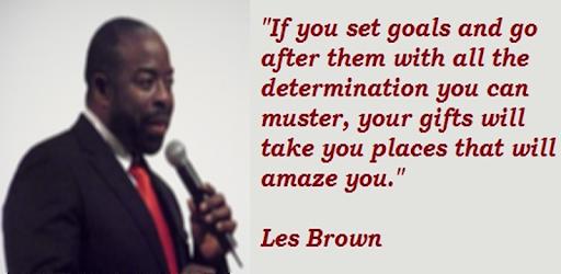 Les Brown Motivation Speech - Apps on Google Play