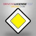 Drivers license test icon