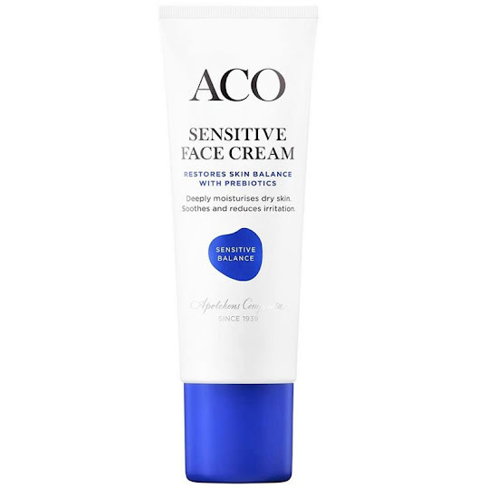 ACO Face Sensitive Balance Cream Oparfymerad 50 ml