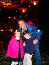 Photo: Zoe, Max and Christopher Sieber (who played Farquaad)