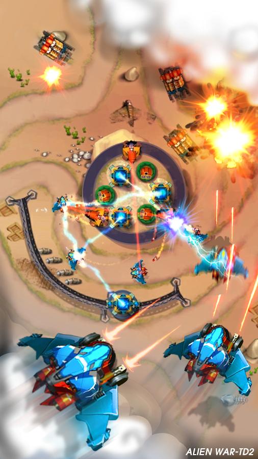 Tower Defense: Alien War TD 2- screenshot