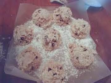 Chocalate chip snowball cookies