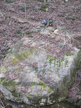 Photo: We found a big rock.