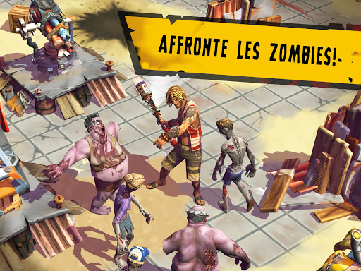 Télécharger Dead Island: Survivors - Zombie Tower Defense  APK MOD (Astuce) screenshots 2