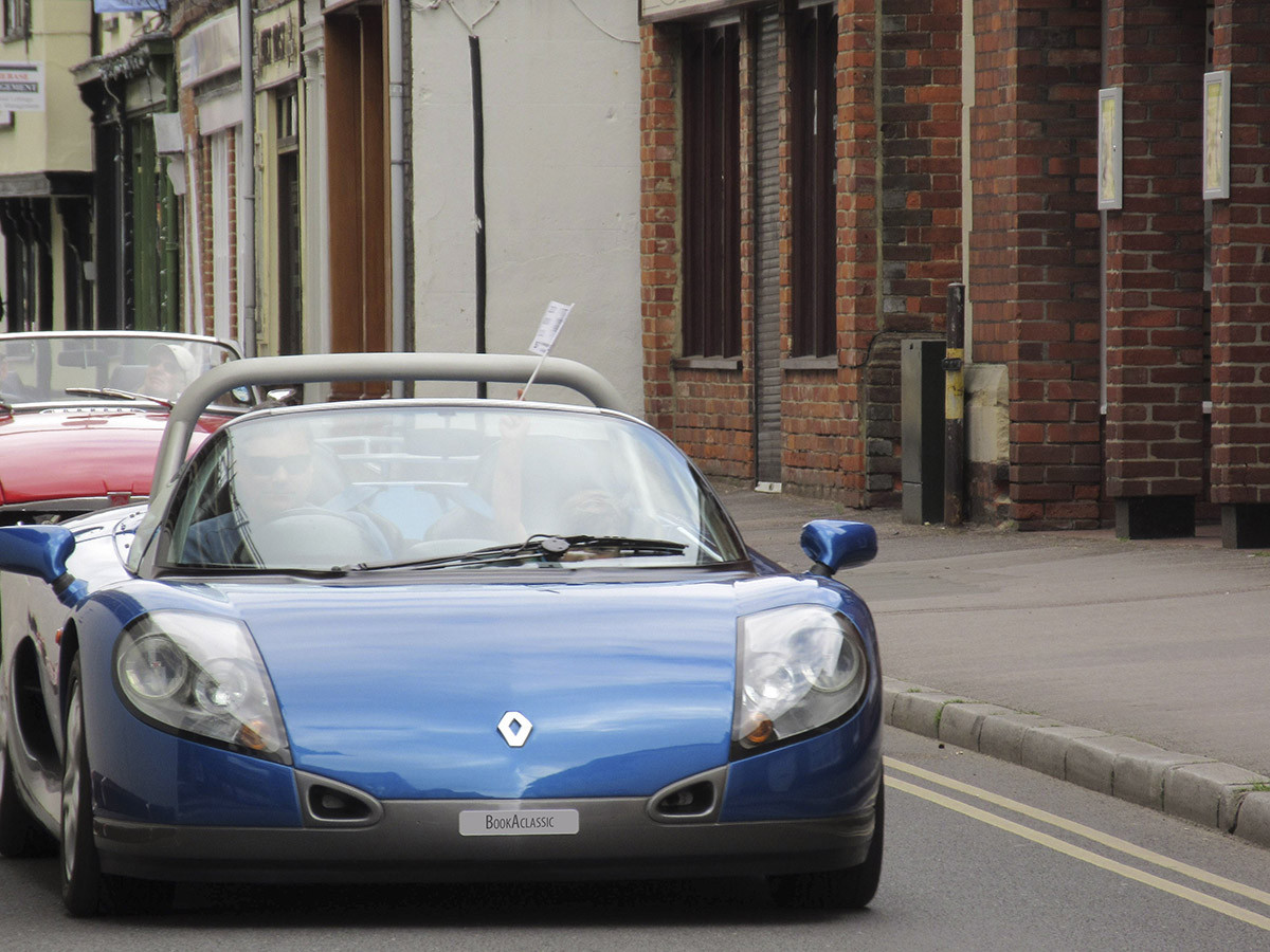 Renault Sport Spider Hire Oxfordshire