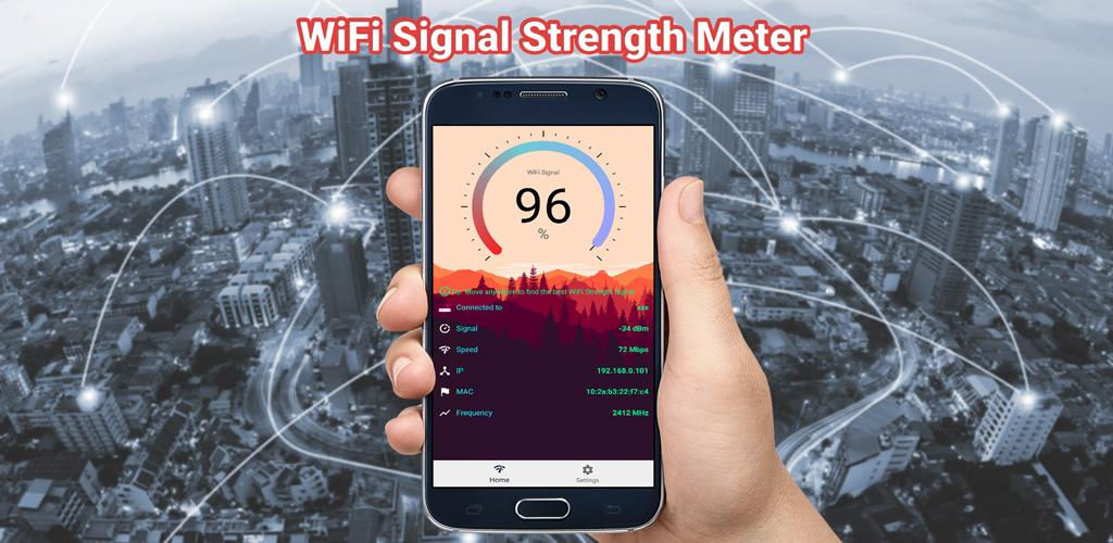 Download WiFi Signal Strength Meter Pro (no Ads) APK latest version app for  android devices