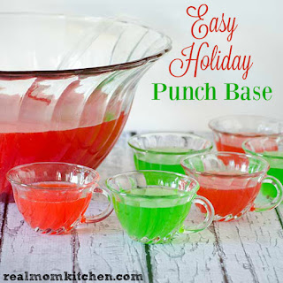 Red Holiday Punch Base