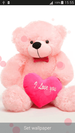 About Love Teddy Bear Wallpapers