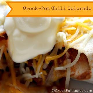 Crock-Pot Chili Colorado.
