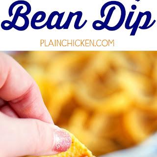 Killer Bean Dip.
