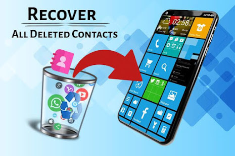 App Recover Deleted All Contacts APK for Windows Phone