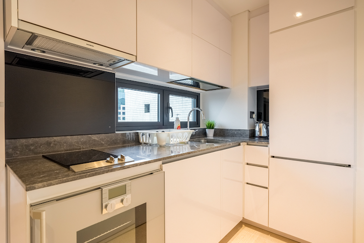 Full kitchen at Pasir Ris Central Residence