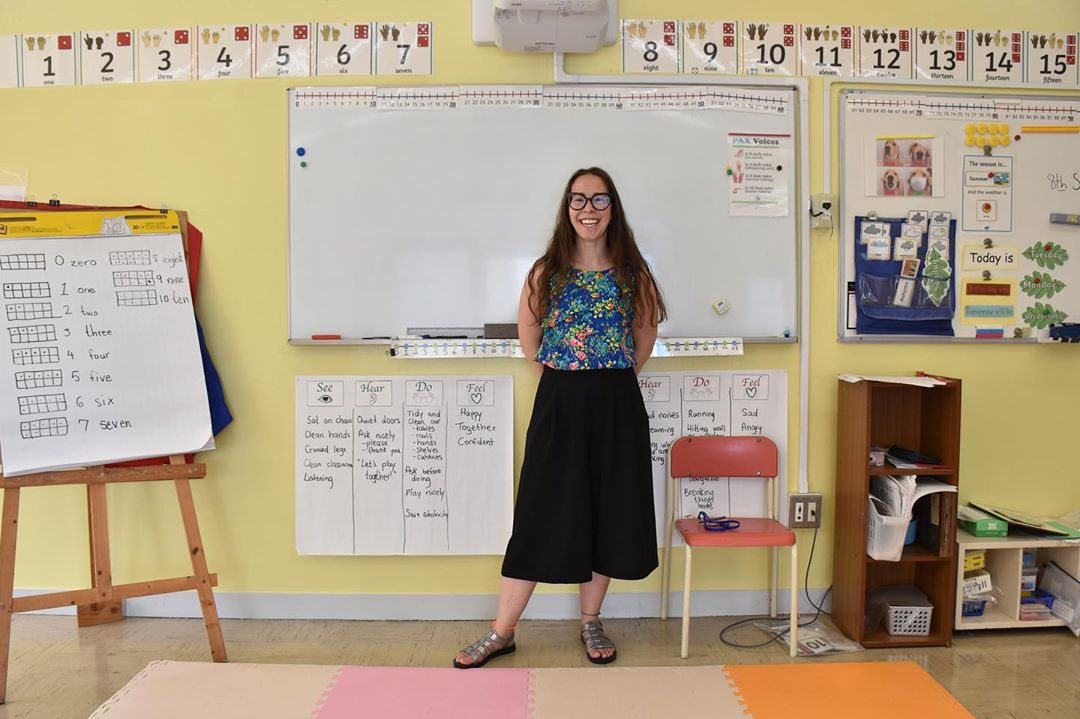 St Maur International School in Japan. New Teacher Rachael settles into her new home ( and classroom) in Japan.