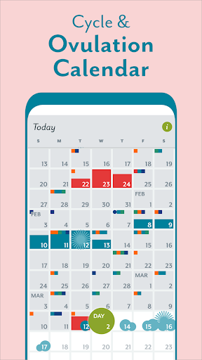 Period Tracker Clue: Ovulation, Period Tracker App screenshot 2