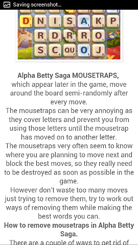 android Best Guide For Alphabetty Saga Screenshot 2