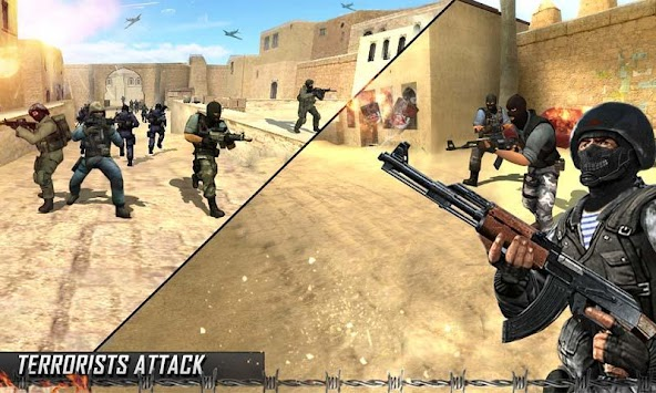 US Army Counter Terrorist Attack Survival Game