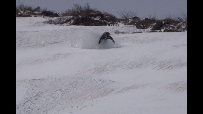 【八方尾根スキー場】バックカントリー・スキーで転倒!②