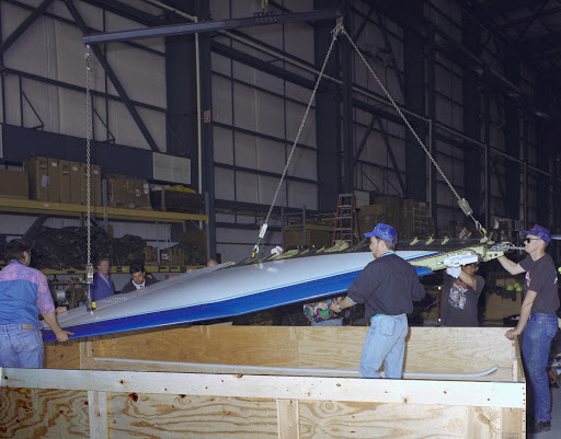 X-31 Wing Storage for Shipping