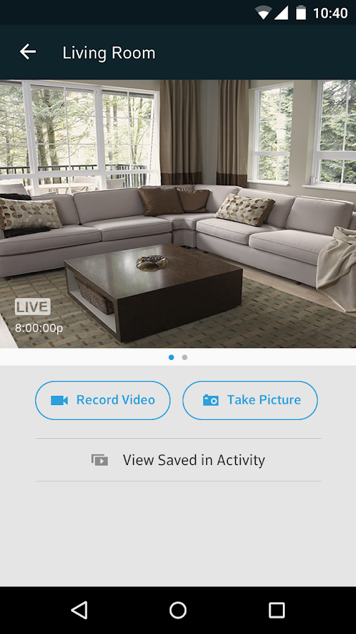 XFINITY Home - screenshot