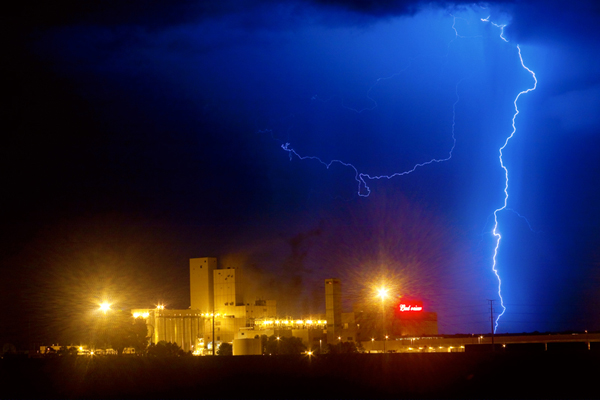 Photo: Bud Light Ning #Photography www.BoInsogna.com #Colorado  #Lightning #Nature #InsognaGallery #Weather