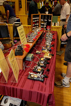 Photo: The Vibroplex booth.