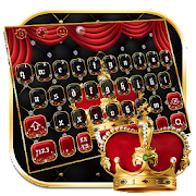 App Icon for Luxury Red Crown Keyboard Theme App in United States Play Store
