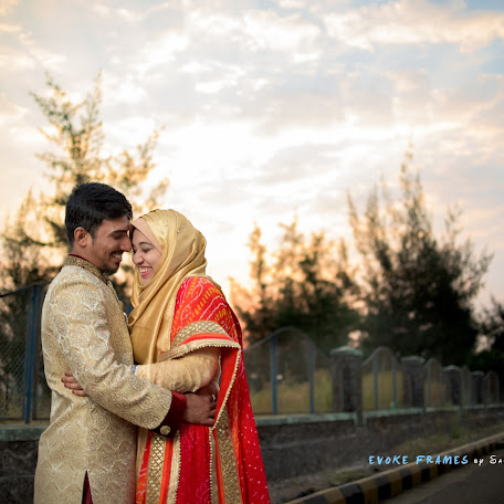 Wedding photographer Sarath Santhan (evokeframes). Photo of 14.12.2017