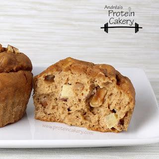 Apple Peanut Protein Muffins.