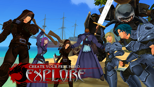 AdventureQuest 3D MMO RPG Mod Apk Download For Android and Iphone 7