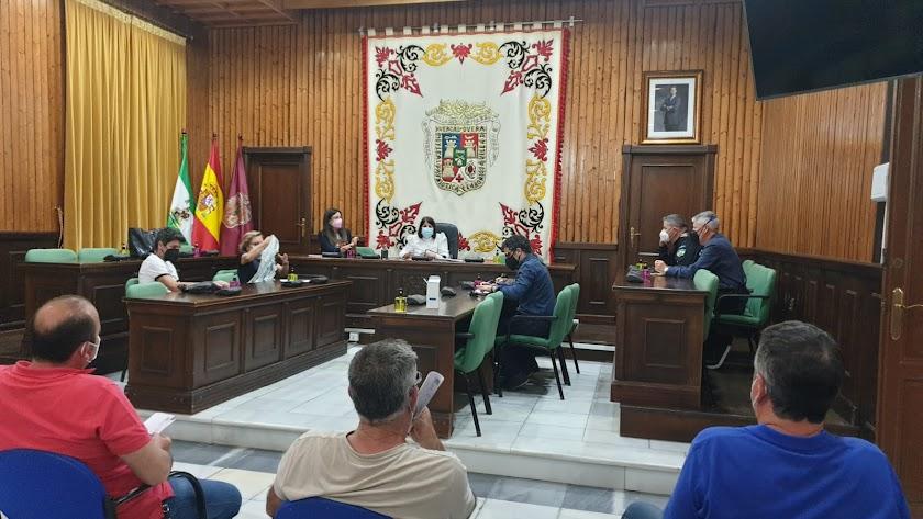 Celebración de la Comisión del Comercio Ambulante en Huércal-Overa.