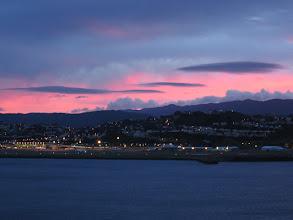 Photo: Wellington airport at sunrise - 6:19am, 11-Sep-04
