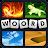 4 Plaatjes 1 Woord Icône