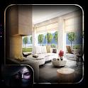 White Wood Living Room icon