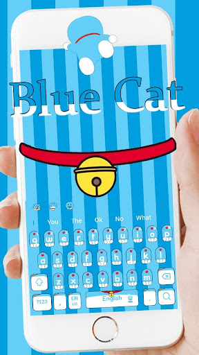 Blue Cat Magic Pocket Theme for PC