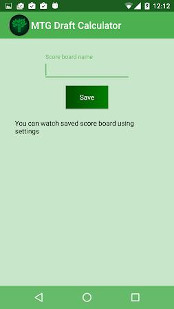 MTG Draft Calculator 1.1.2 screenshot 2092062