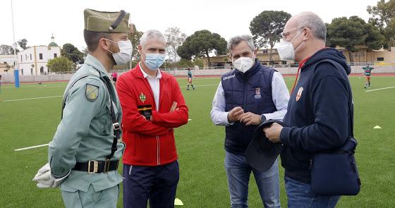 Diputación con el Campeonato de Andalucía de Rugby Sub 21
