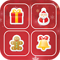 Christmas Memory Match World icon