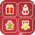 Christmas Memory Match World icon