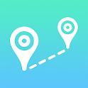 Air-Line - Distance measurement icon