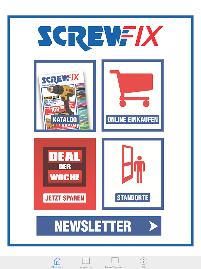 screwfix katalog android apps on google play. Black Bedroom Furniture Sets. Home Design Ideas