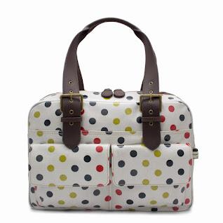 Polka Box Tote Bag
