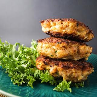 Crispy Shrimp Burgers